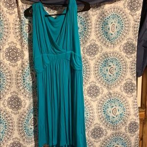 Dresses & Skirts - Teal sleeveless dress